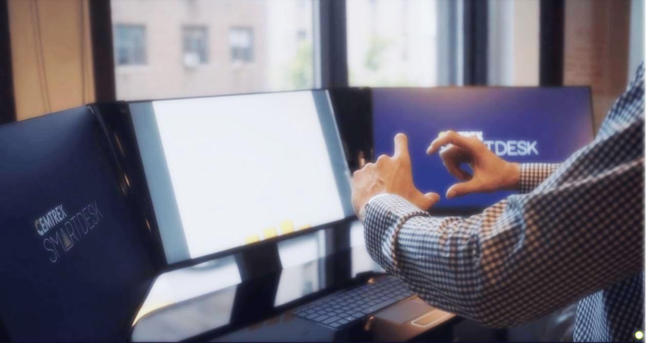 stark-gesture-system-Cemtrex-SmartDesk