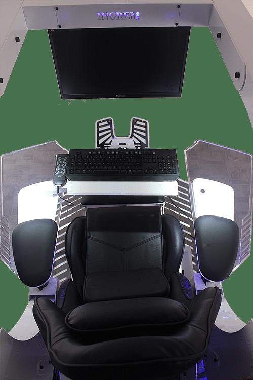 тройной монитор рабочей станции Veyron J20