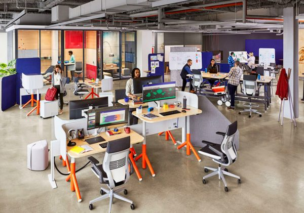 Адаптируемая офисная мебель