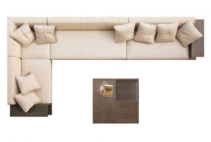 Размещение дивана