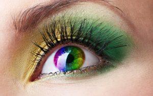Глаз радуга