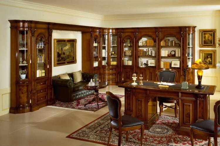 Классический стиль в оформлении интерьера офиса